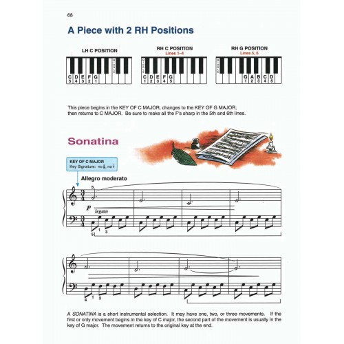 Lesson Book 1B Alfred/'s Basic Piano Course