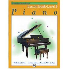 Alfred's Basic Piano Course: Lesson Book 3