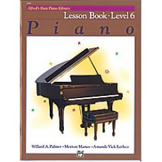 Alfred's Basic Piano Course: Lesson Book 6