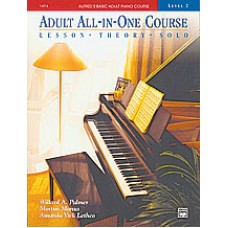 Alfred's Basic Adult All-in-One Course, Book 2